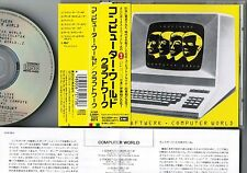 KRAFTWERK Computer World+1 JAPAN CD TOCP-8974 w/Dentaku Japanese ver+OBI+INSERT