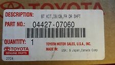 Genuine Toyota Avalon Front Drive Shaft Boot Kit 04427-07060 INCLUDES GREASE