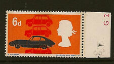 COMMEMORATIVE : 1966 Technology 6d SG 702p -Phosphor bands on FRONT and BACK unm