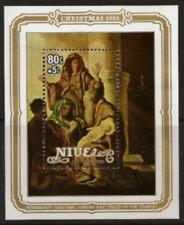 Niue - 1981 - Sc 350 - Christmas (Rembrandt) VF MNH