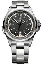 Relojes de pulsera de acero inoxidable de luz