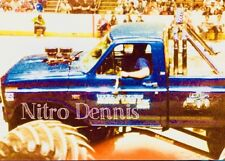 BIGFOOT 4x4 FORD Photo 8x10 Original MONSTER Truck CRUSHER #4 NHRA from 1985