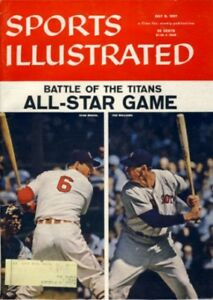 1957 Ted Williams & Stan Musial Sports Illustrated