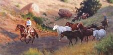"""Extra Mounts"" Wayne Baize Limited Edition Giclee Canvas"