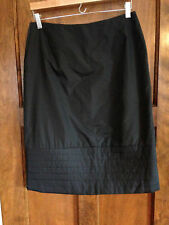 Parralel 4 Women''s Black Lined Skirt with Quilted Bottom-Super Cute!