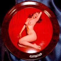 Marilyn Monroe 1950s Vintage Pinup Calendar Coaster Tray Golden Dreams NM COA