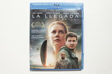 LA LLEGADA ( ARRIVAL ) - BLU RAY - AMY ADAMS - JEREMY RENNER - FOREST WHITAKER