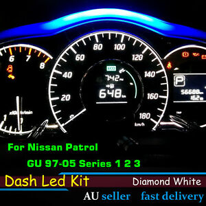Car Dash LED Kit Indicator For Nissan Patrol GU 97-05 Series 1 2 3 Replace Bulbs