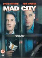 MAD CITY DVD John Travolta Alan Alda Dustin Hoffman William Atherton UK New R2