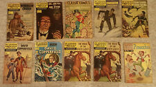 Classics Illustrated - Lot of 10