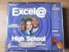 Excel @ High School by Knowledge Adventure (PC, 2000) Windows 95 98 + Mac