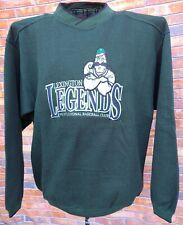 LEXINGTON LEGENDS MINOR LEAGUE BASEBALL TEAM Lg GREEN SWEATSHIRT BIG LOGO