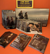 2020 OUTLANDER Season 4 - Base Set + 3x Insert Sets, Box, Empty Packs 99 Cards