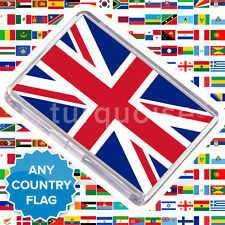 Any Country Flag Fridge Magnet United Kingdom UK & World 70 x 45 mm | Large Size