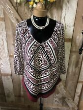 Women's Blouse Top By HeartSoul Size Large