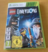 Lego Abmessungen Xbox 360 Kids Building Fun komplett mit Handbuch 7+ Kinder Mädchen