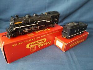 """RARE TRIANG R54 T.C BLACK 4-6-2 PACIFIC LOCO & TENDER """"HIAWATHA"""" 2335 EXC BOXED"""