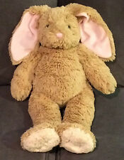 EUC  Retired  BUILD A BEAR  Big Ears BUNNY  Rabbit  EASTER  Stuffed Plush  EUC