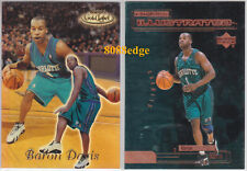 (2) 1999-00 TOPPS GOLD LABEL RC+ROOKIE ILLUSTRATED: BARON DAVIS #88 #RI5 HORNETS