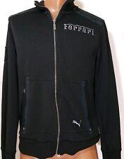 Puma Ferrari mens Zip Up Track Jacket black size medium M med