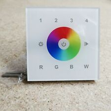 ZigBee 4-Zone RGB and RGBW touch panel (wall mount)