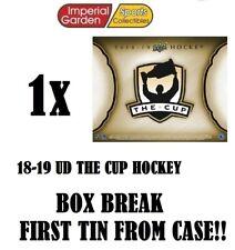SINGLE * 18-19 * UD THE CUP HOCKEY Box Break #2123- New Jersey Devils