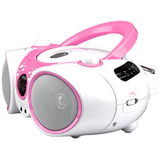 Portable Sport Stereo Cd Player +Cd-R/Rw with Am/Fm Radio Aux Line In Headphone