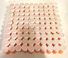 Lot 100 Empty Amber Plastic Pill Bottles Rx Craft Coin Hardware Storage EZ Open