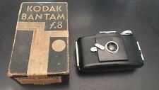 Kodak Bantam F8 Camera With original box Antique Collectible