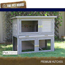 NEW Somerset Double Storey Wood Hutch for rabbits guinea pigs