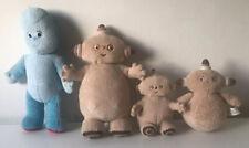 Cbeebies In The Night Garden 1 Iggle Piggle 3 Makka Pakka Toy Bundle
