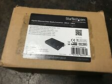 StarTech Gigabit Ethernet Fiber Media Converter - SM LC - 10 km ET91000sm10