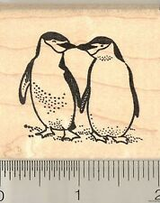 Chin Strap Penguins rubber stamp G10907 WM