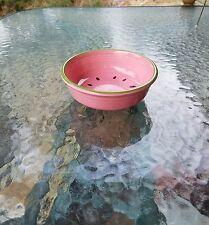 FIESTAWARE 14 oz CEREAL dip FRUIT bowl  WATERMELON fiesta ROSE