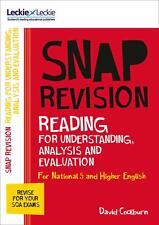 Leckie SNAP Revision National 5Higher English Revision Reading For Analysis