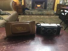 Vintage 50s Stereo Realist 3D Film Camera W/Leather Case.*Free Shipping*.
