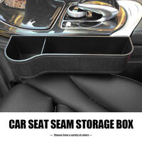 Universal Car Seat Gap Filler Catcher Organizer Pocket Slit Storage Box Left UK