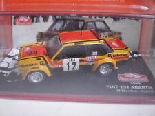 FIAT 131 ABARTH #.12 RALLYE MONTE CARLO 1980 M.MOUTON-A.ARRII  PAR ALTAYA AU1/43