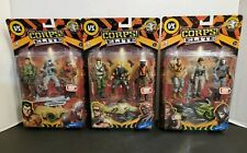 LOT OF 3 THE CORPS! ELITE ACTION FIGURE COLLECTION SETS** NEW