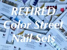 Retired & Hard to Find Sets ~ Color Street Nail Strips ~ Fast Shipping!