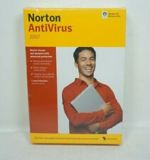 Sealed Norton AntiVirus 2007 For Windows XP