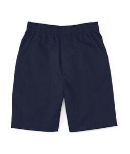 unik Boy's Uniform All Elastic Waist Pull-on Shorts