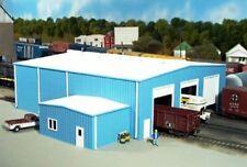 Blue HO Scale Model Train Buildings, Tunnels & Bridges