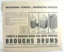 1961 E A Brough, Upper Parliament Street Liverpool, Drums For Every Purpose