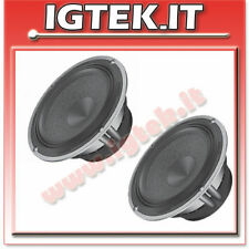AUDISON COPPIA WOOFER AV6.5 16cm + SUPPORTI X AUDI A4 SW '97