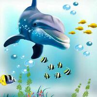 uk Fish Under Sea Bubble Vinyl Wall Sticker Bathroom Kids Bedroom Playroom Decor