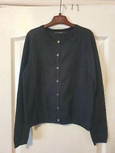 Modern Black Cardigan. Girls. Black. Age 10 /11 worn once