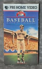 """Baseball PBS Series Inning #9 """"Home"""" Movie VHS Cassette Tape Carlton Fisk"""