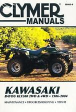 1986-2004 Kawasaki Bayou KLF300 2/4WD ATV Repair Service Workshop Manual M4664