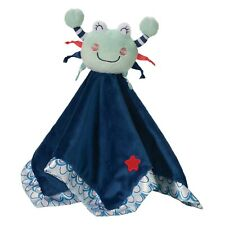 Douglas Baby Lil Crab Security Blanket Lovey Blue Velvety Snuggler